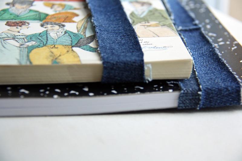 Denim Book Straps | redleafstyle.com