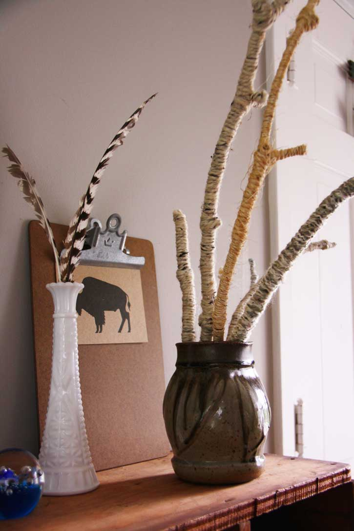 Easy yarn twig dcor red leaf style reviewsmspy