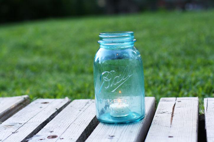 5 Ways to Use a Mason Jar | redleafstyle.com