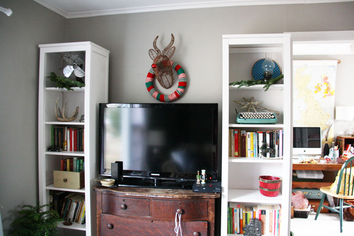 Holiday House Tour 2015   redleafstyle.com