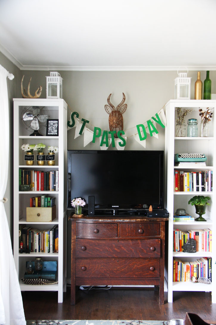 St. Patrick's Day Decorating 2016 | redleafstyle.com