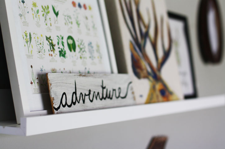 How to Make Your Own Adventure (Sign) | redleafstyle.com