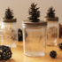 Want Pinecone Crafts? Here's How to Make Cute Pinecone Lids for Jars